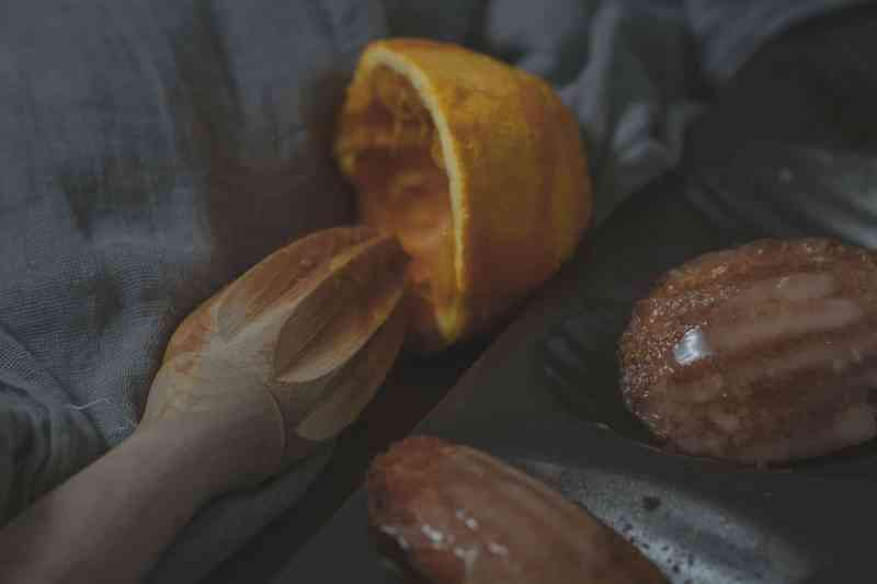 receta madeleines naranja