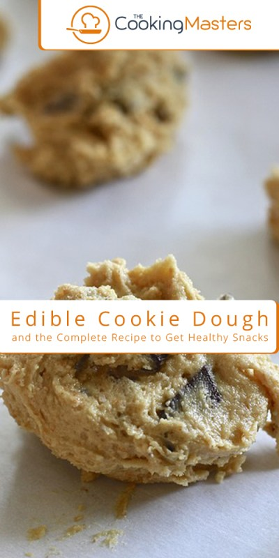 Edible cookie dough