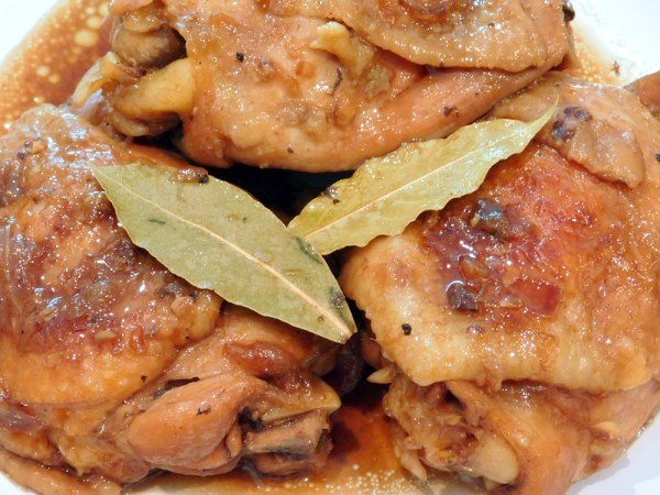 Chicken Thighs Adobo Recipe