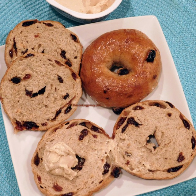 New York-Style Cinnamon Raisin Bagel Recipe