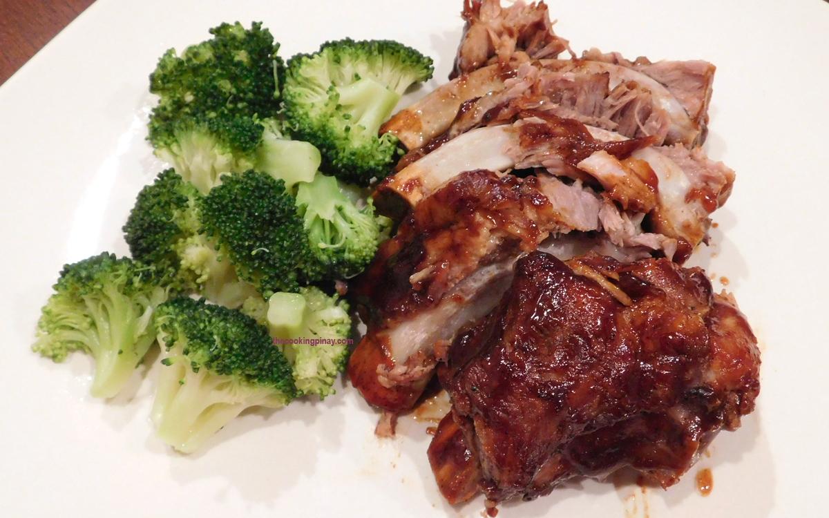 Fall Off the Bone Pork BBQ Spare Ribs