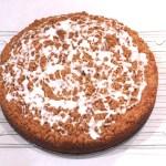 walnut raisin streusel topping coffee cake 1