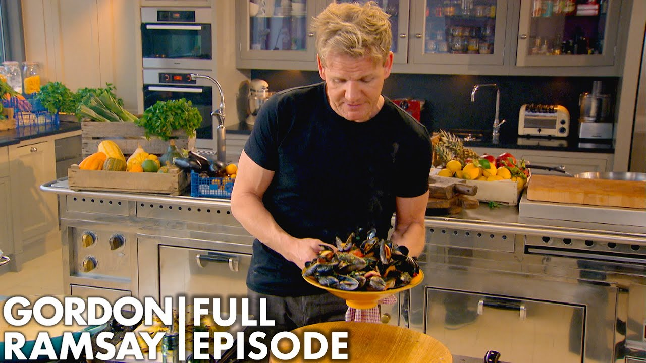 Healthy Recipes With Gordon Ramsay | Home Cooking FULL EPISODE
