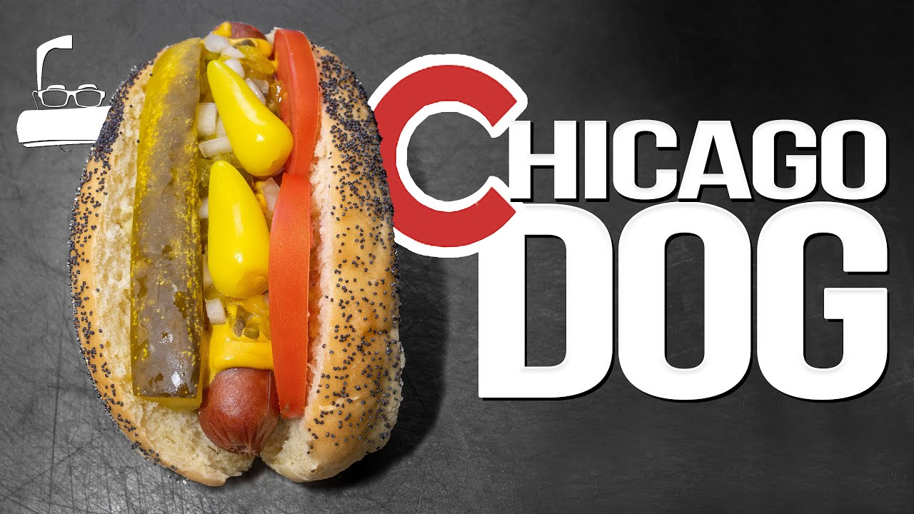 THE CHICAGO DOG / CHICAGO-STYLE HOT DOG...IS IT WORTH THE HYPE? | SAM THE COOKING GUY