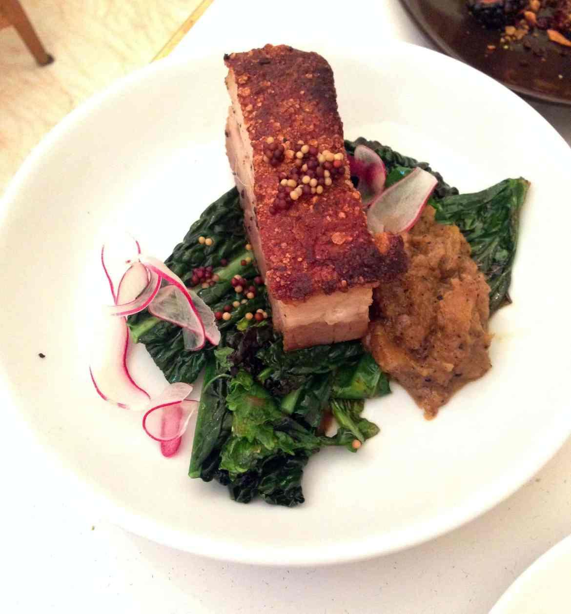 NOPI Pork Belly