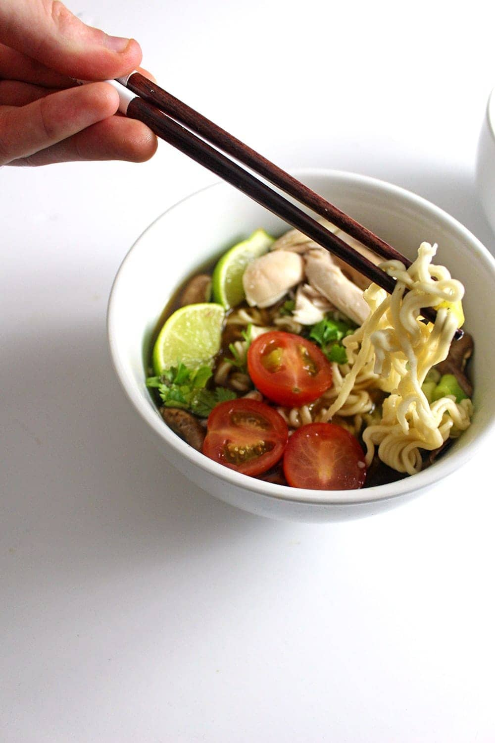 This Thai ramen is perfectly balanced between sweet, salty and spicy!