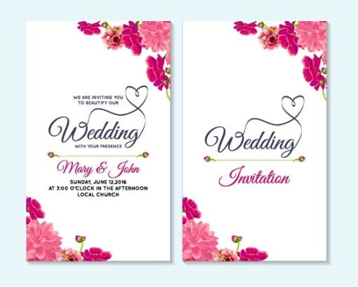 invitations and card printing