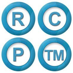 Registered Copyright Patent Trademark Icons