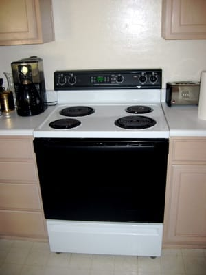 Not our actual stove...