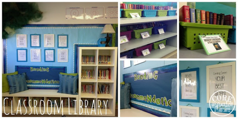 Core Inspiration Classroom Library A Closer Look.
