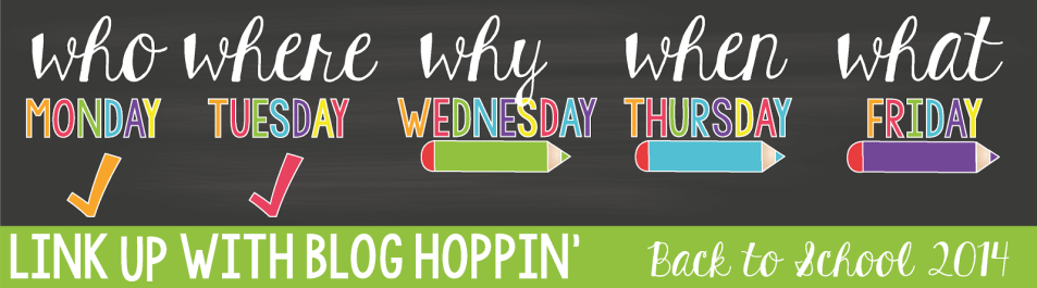 Blog Hoppin' Back To School 2014 Linky Header