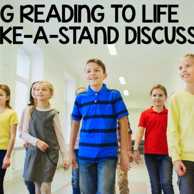 Bring Reading To Life With Take-A-Stand Discussions