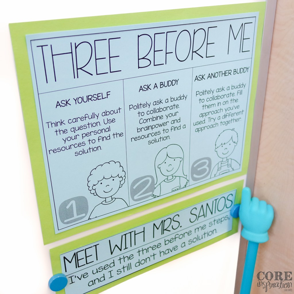 Core Inspiration Three Before Me Poster