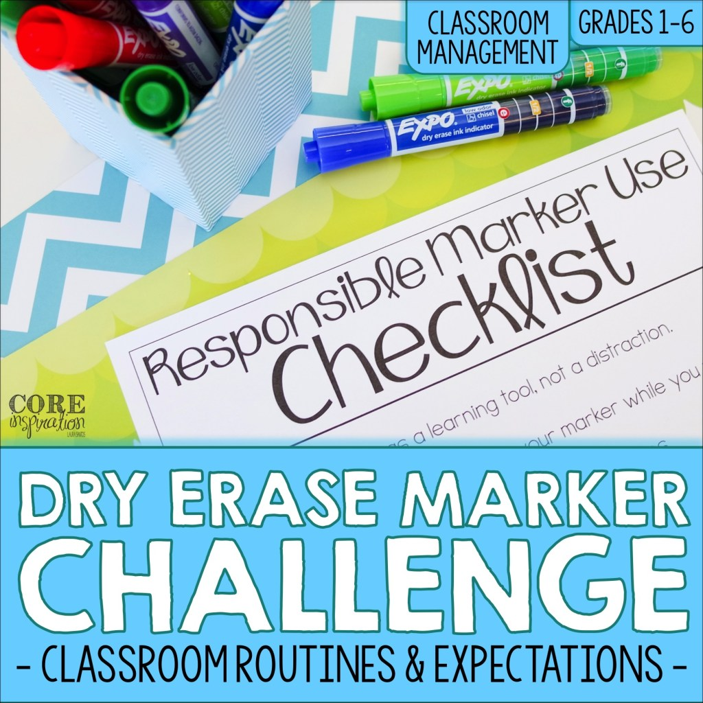 Core Inspiration Dry Erase Marker Challenge Activity Resource Cover