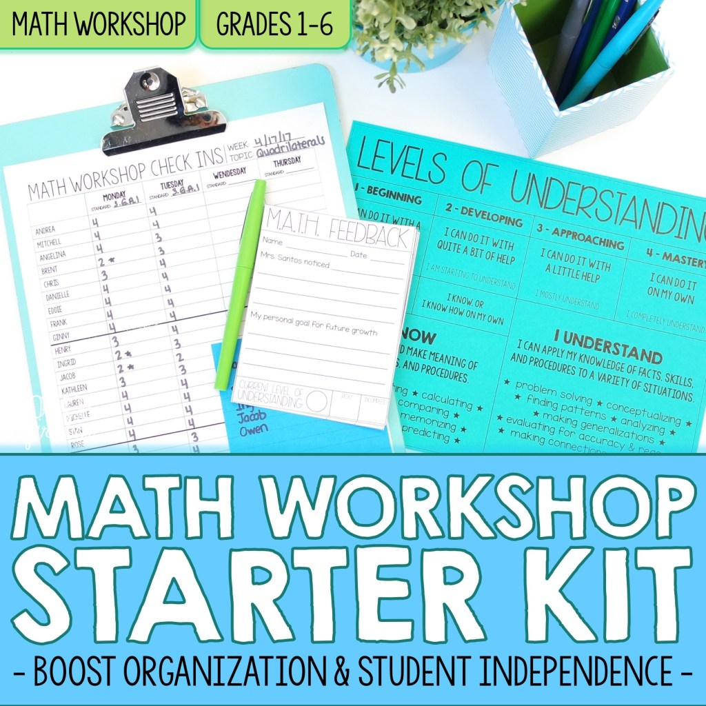 Differentiate Math Instruction With Math Workshop