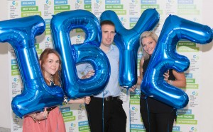 DKANE 08/10/2015 REPRO FREE Over All Winners of Best Young Entrepreneurs Gail Condon, Writing For Tiny, Cork City Region, Aimee Musgrave, Crunch Cork North and Cork West region and Ian Kerins, Head of Operations Ayda, South Cork Region at the Cork final of the Local Enterprise Offices' search for 'Ireland's Best Young Entrepreneur' in The Atrium at City Hall, Cork on Thursday 8th October 2015. For more see ibye.ie. Pic Darragh Kane.