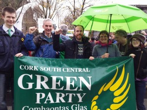 File photo of Oliver Moran (General Election candidate) for Green Party in Cork North Central