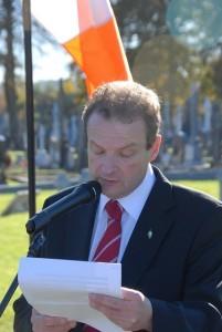 File photo: Lord Mayor of Cork Cllr Chris O'Leary (SInn Fein)