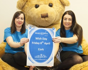 Pictured at the launch of Wish Day in Cork on Friday 8th April in aid of Make-A-Wish were Irene Timmins & Emma Horgan from Make-A-Wish Ireland.