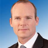 Minister Simon Coveney from Cork