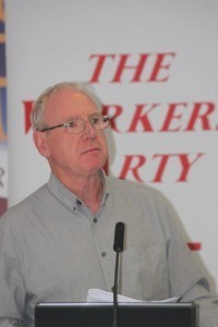 Worker's Party Cork City Cllr. Ted Tynan