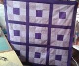 Sally' popping purple blocks