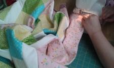 Trudi adding binding