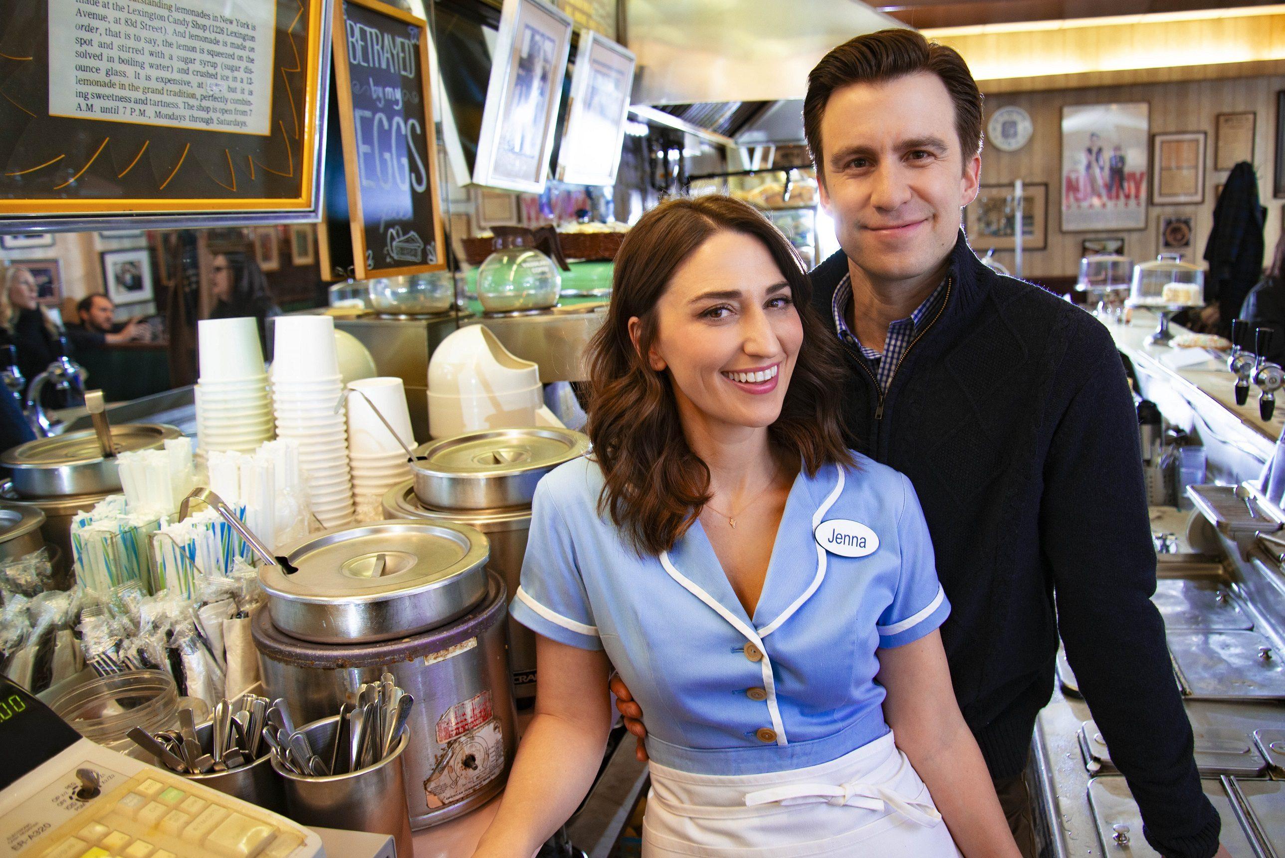 Sara Bareilles and Gavin Creel. Waitress promo image. Credit Shervin Lainez.jpg