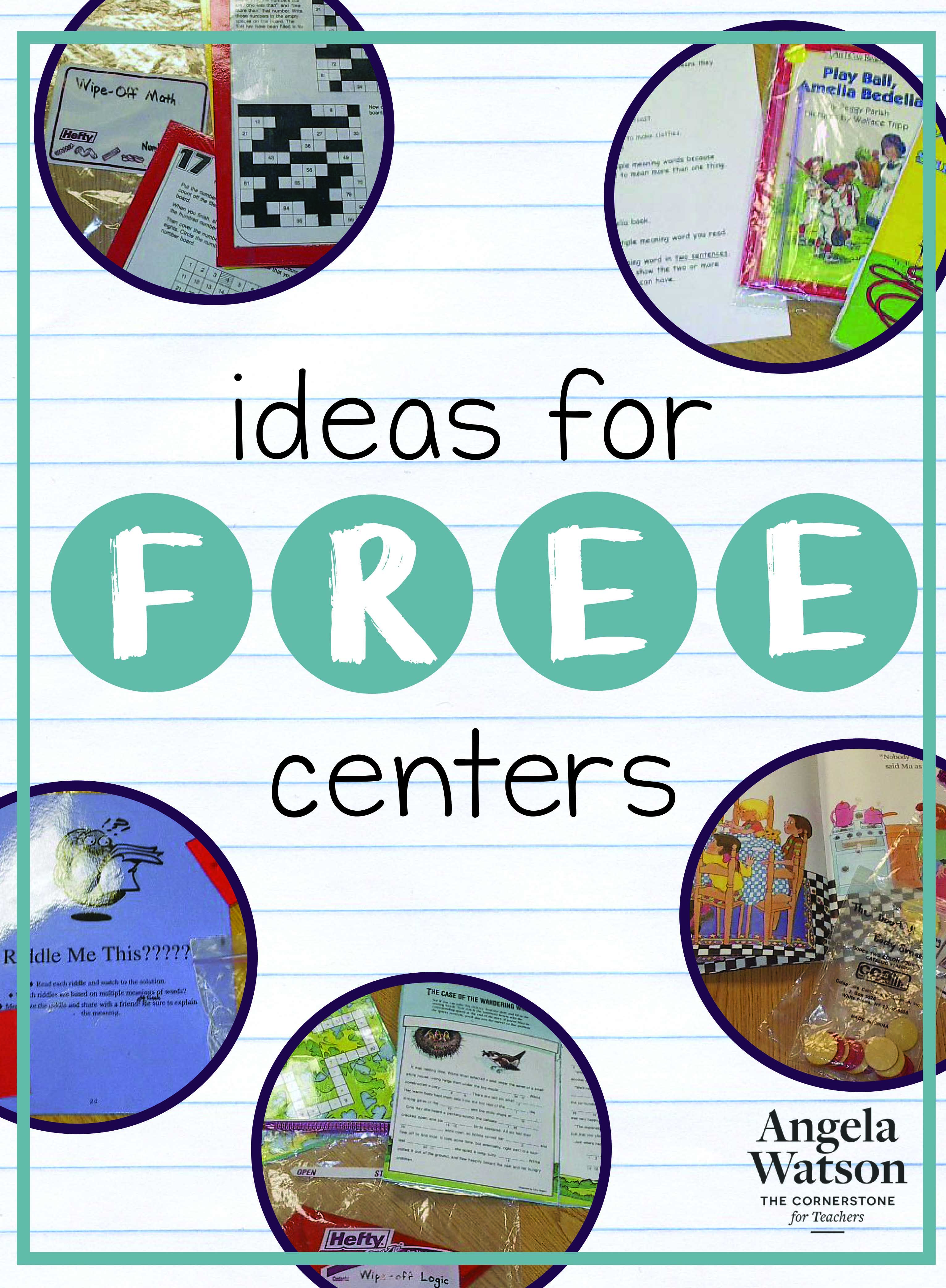Ideas For Free Centers
