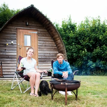 Glamping at Penbugle Organic Farm*