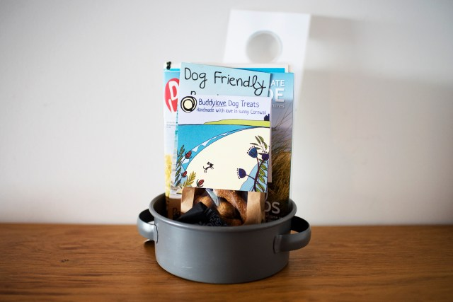 Dog Welcome Pack at Bedruthan | The Cornish Dog