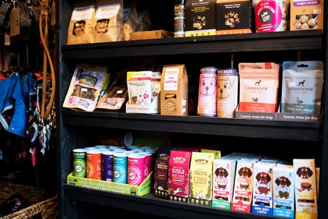 Stocking Plenty of Natural Healthy Treats | The Cornish Dog