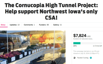 Home stretch for the crowdfunding campaign