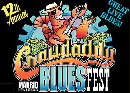 The 12th Annual CrawDaddy Blues Fest!