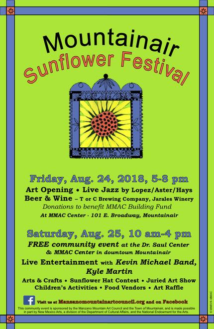 2018 Mountainair Sunflower Festival
