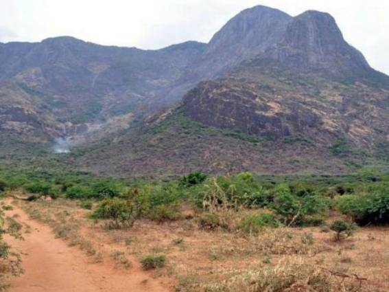 The Site Of The Project: INO Peak