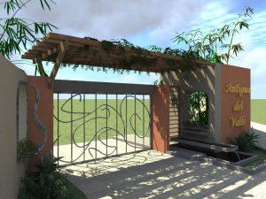 Entrance to La Antigua