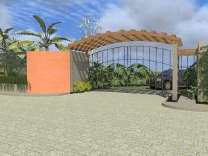 Entrance to Las Brisas