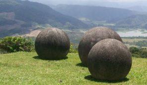 Costa Rica's stone spheres.