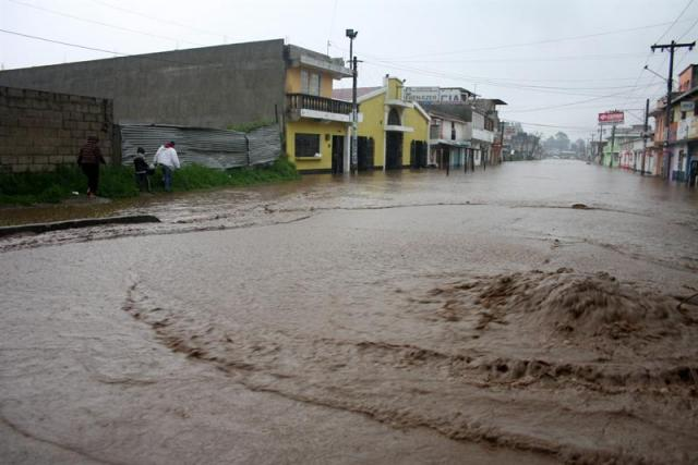 Bad weather in Costa Rica