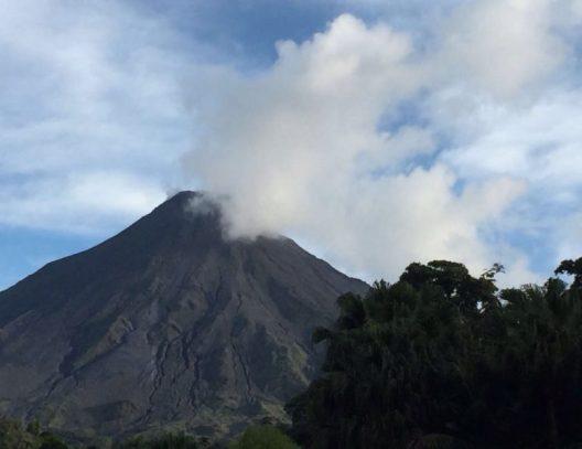 Volcano Arenal in La Fortuna