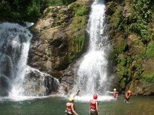 savegre waterfall