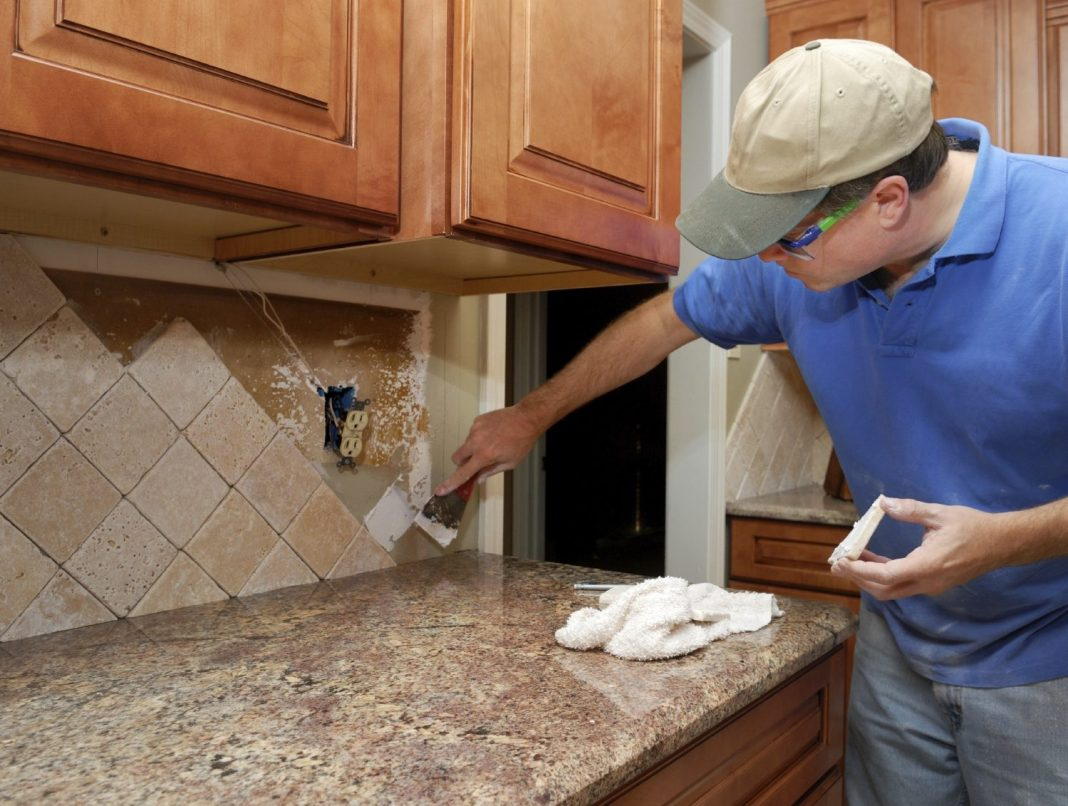 repairing a house