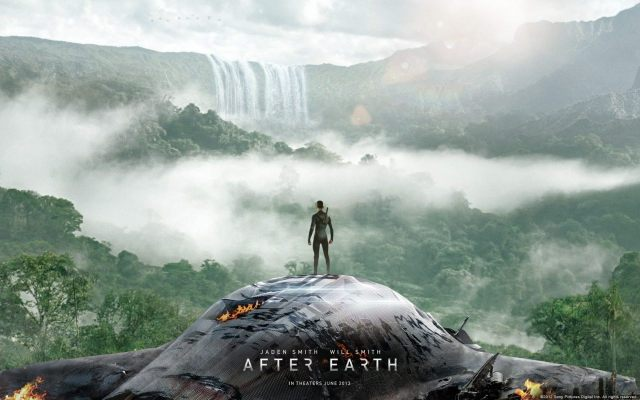 After Earth was starred by Will and Jaden Smith, father and son.