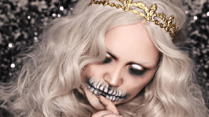 Halloween promotes dead-like looks among children and youngsters every October.