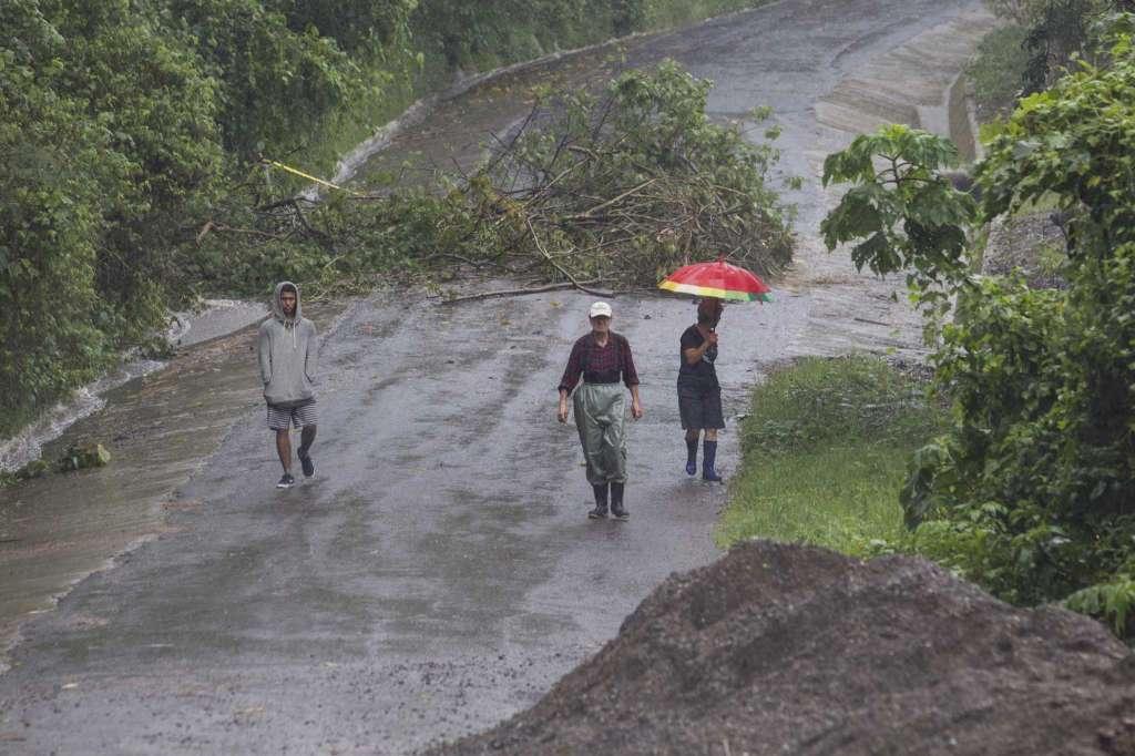 Landslides in Alajuela, Costa Rica