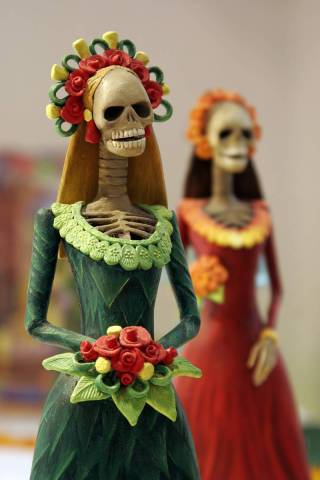 Mexican culture is likely to celebrate rituals honoring the death ones.