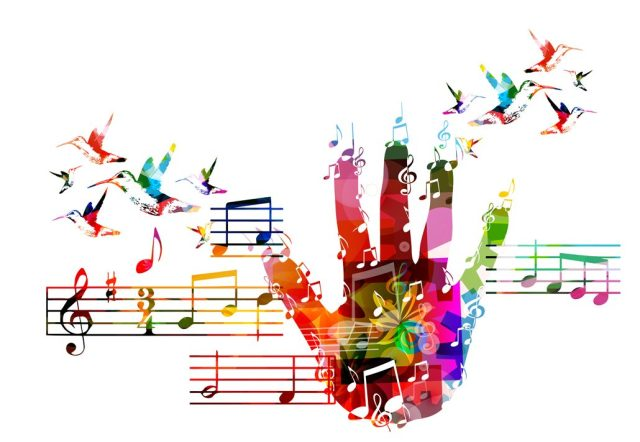 Music is expressed in many different ways.