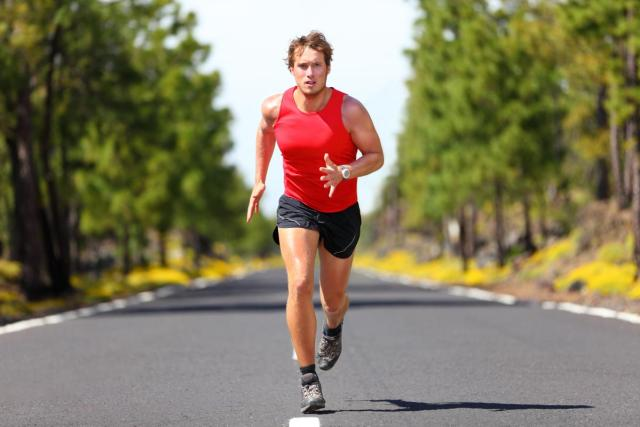 Frequent runners activate all metabolic processes in their bodies