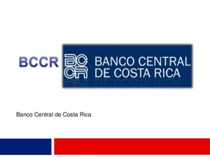 Communiqué of the Central Bank of Costa Rica